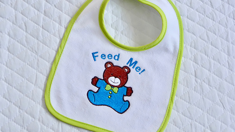 Free Design: Baby Bear Bib